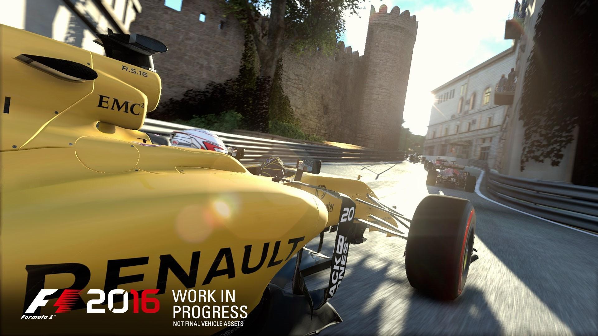 《F1 2016》游戏截图