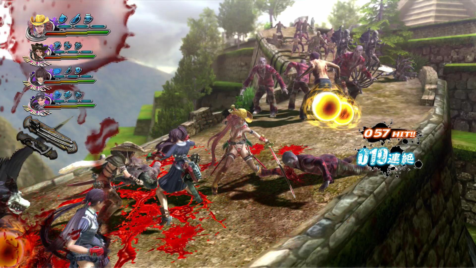 《御姐玫瑰Z2:混沌》游戏截图