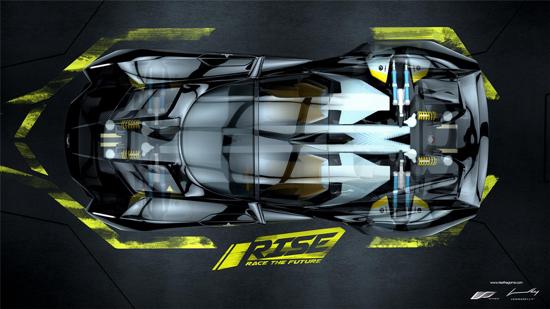 《崛起:未来竞速》高清游戏壁纸