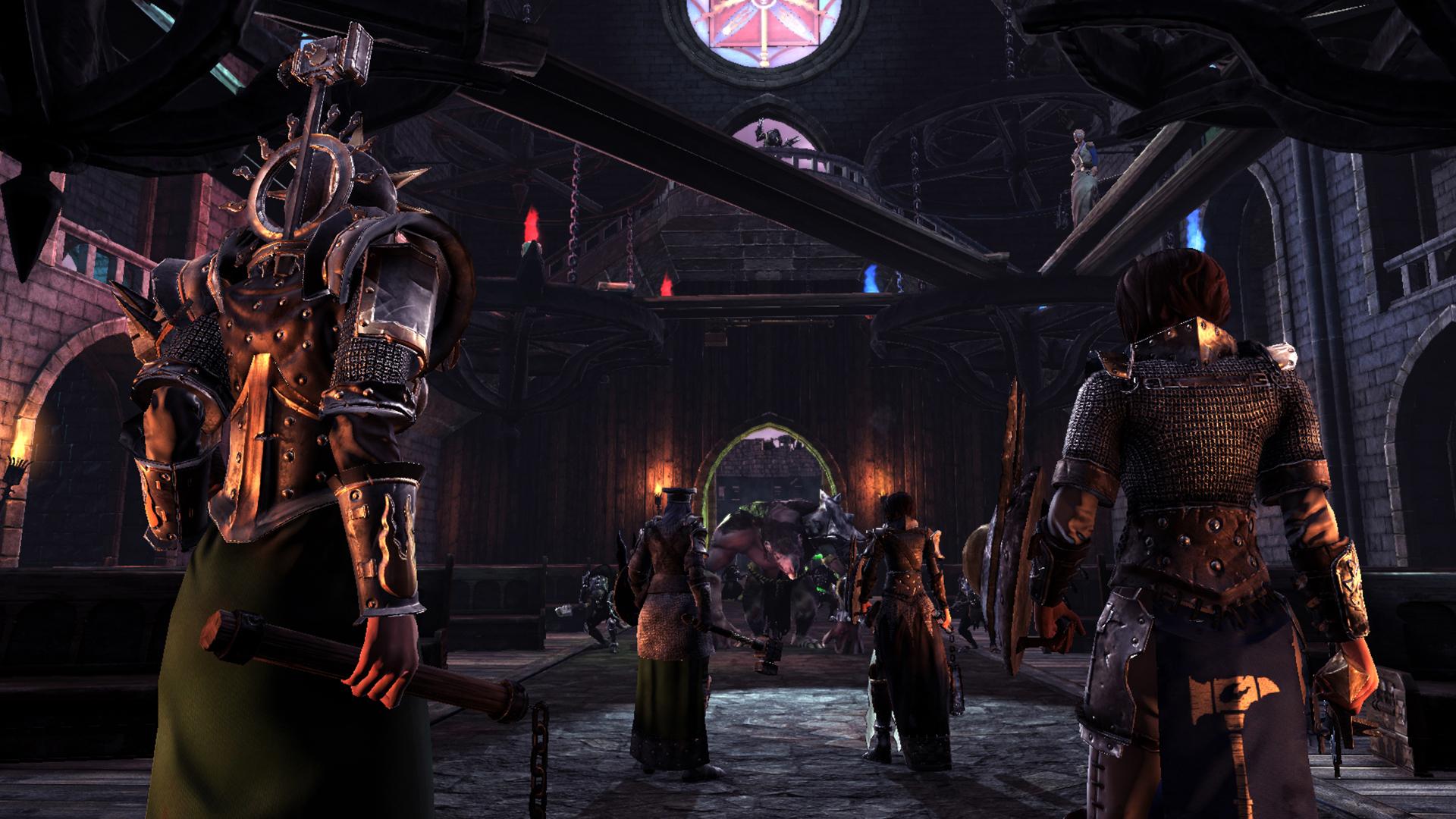 《莫德海姆:诅咒之城》游戏截图