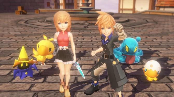 《最终幻想世界》高清游戏截图